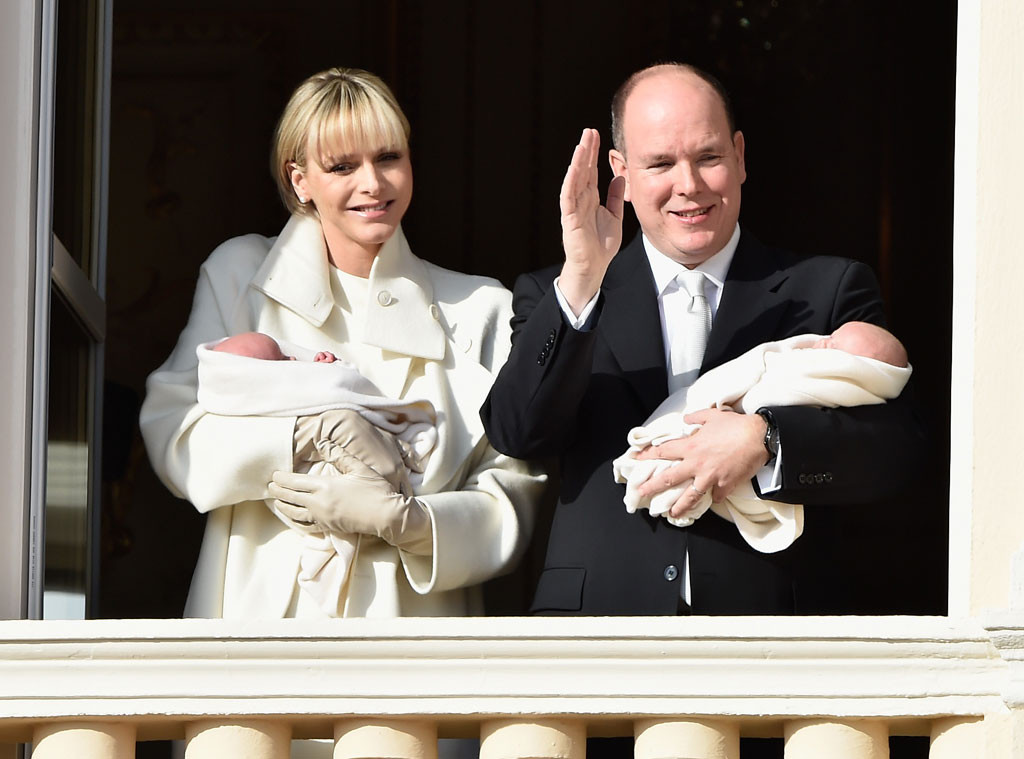 Prince Albert II of Monaco, Princess Charlene of Monaco, Twins