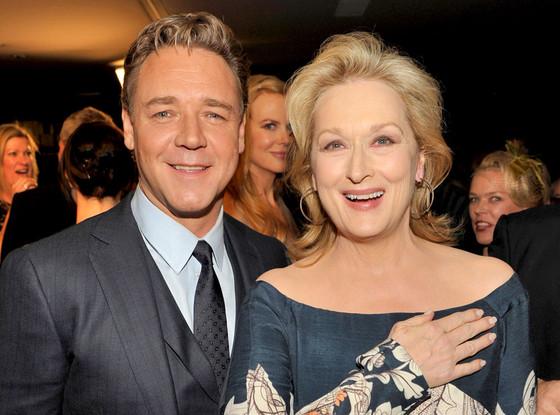 Russell Crowe, Meryl Streep
