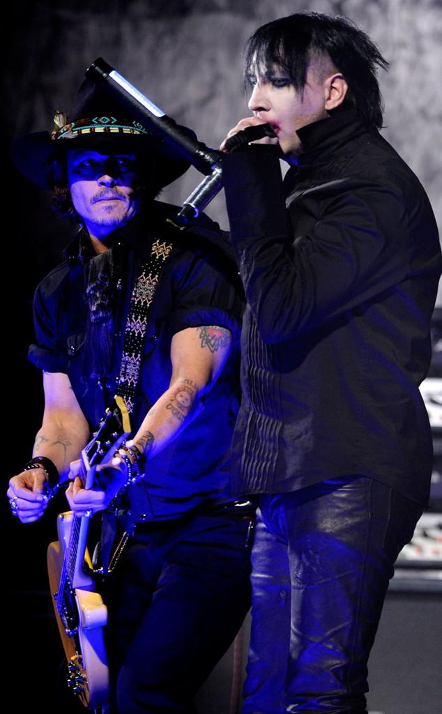 Johnny Depp, Marilyn Manson