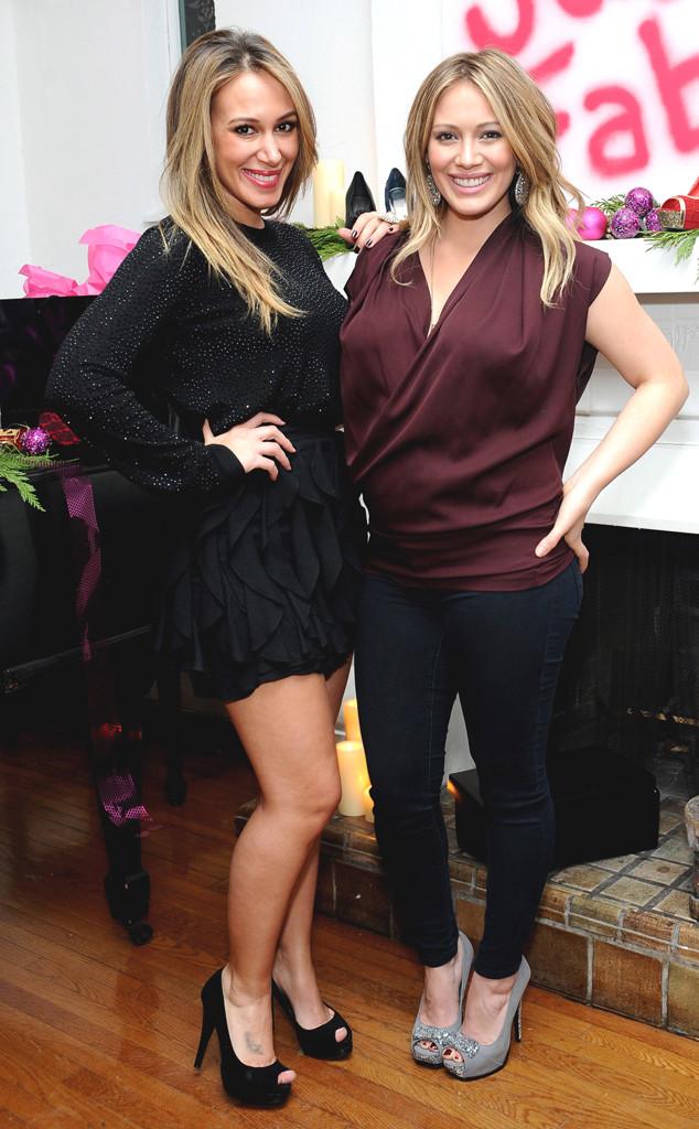 Haylie Duff, Hilary Duff, Celeb Sisters