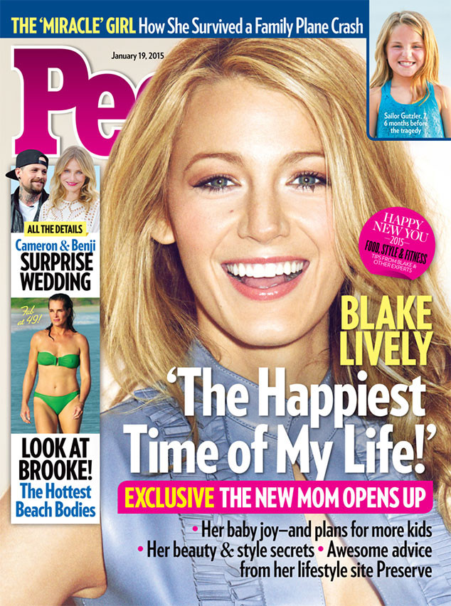 New Mom Blake Lively: ...