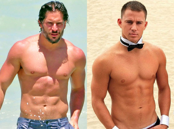 how to get channing tatum body