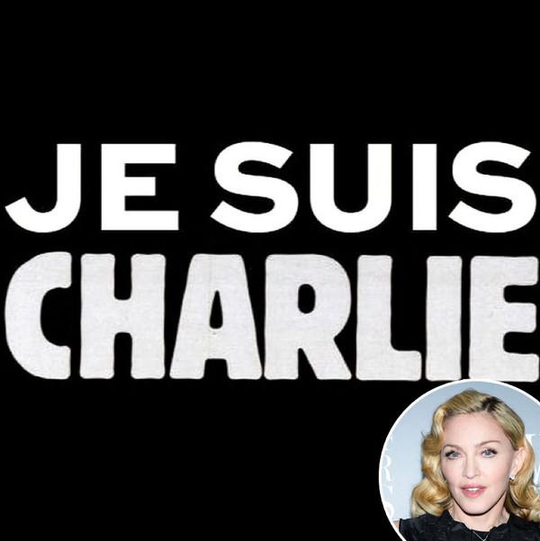 Je Suis Charlie, Instagram, Madonna