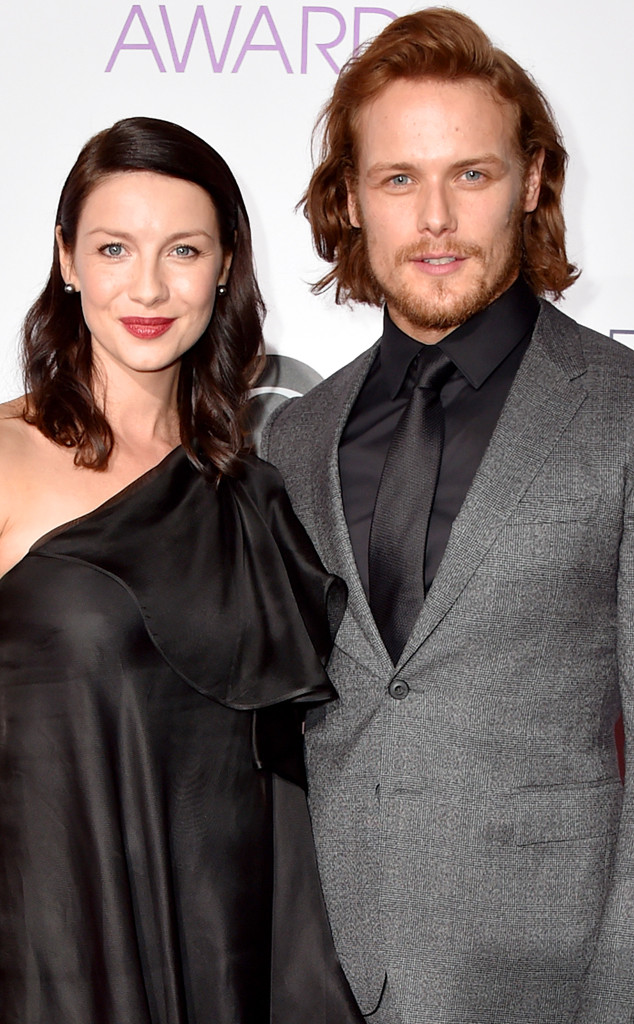 Outlander's Sam Heughan and Caitriona Balfe Spill the Real Reason