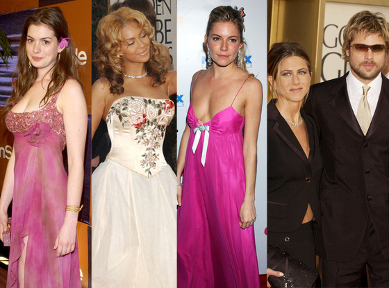 39 Photos of Your Favorite Stars in Early 2000s Golden Globes Fashion That Will Give You Life
