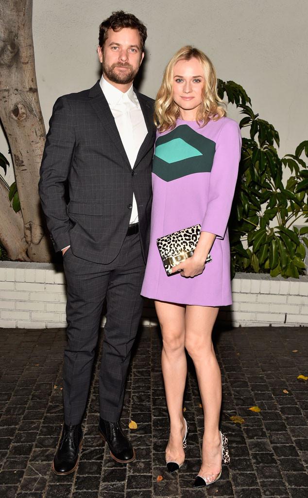 Joshua Jackson, Diane Kruger, W Magazine Party