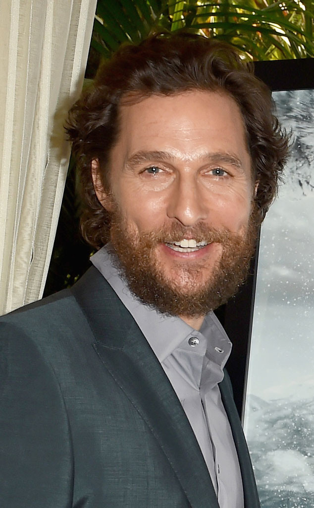 Matthew McConaughey, Beard