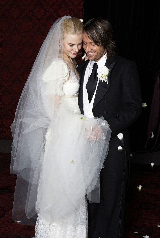 Nicole Kidman, Keith Urban, Wedding