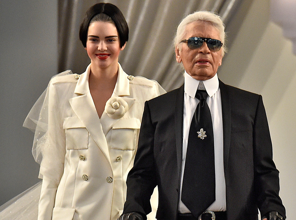 Karl Lagerfeld, Kendall Jenner