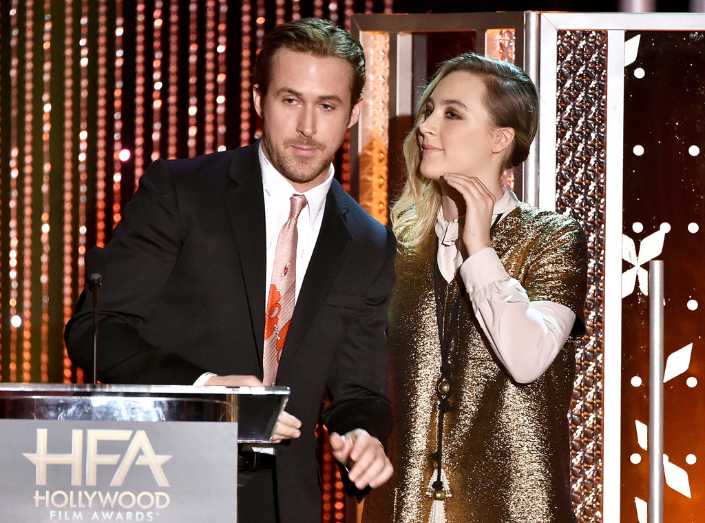 Ryan Gosling, Saoirse Ronan, Hollywood Film Awards
