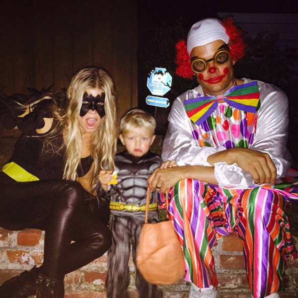 Fergie, Josh Duhamel, Son Axl, Halloween 2015