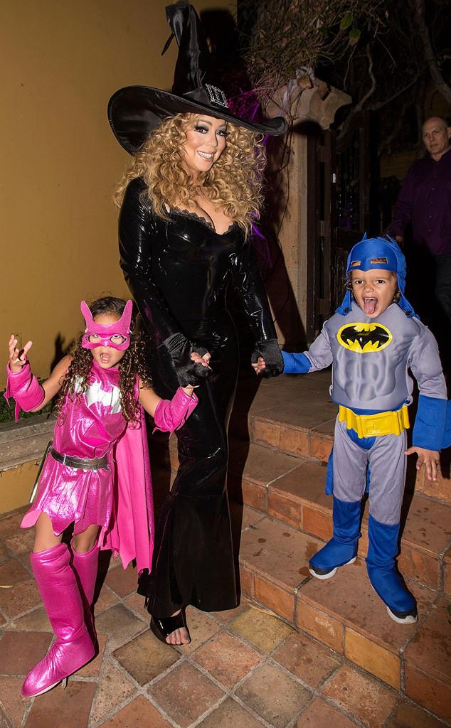 Mariah Carey, Monroe Cannon, Moroccan Cannon, Halloween 2015