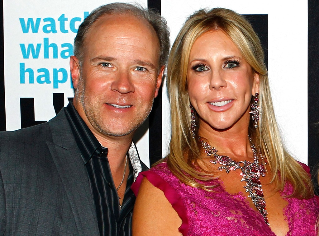 Is vicky from orange county housewives still dating brooks
