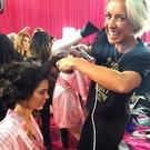 Prepping for the 2015 Victoria's Secret Fashion Show