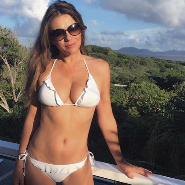 Elizabeth Hurley, Bikini, Swimsuit, Body