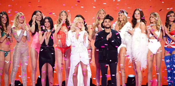 Selena Gomez, Ellie Goulding, The Weeknd, Victoria's Secret Fashion Show