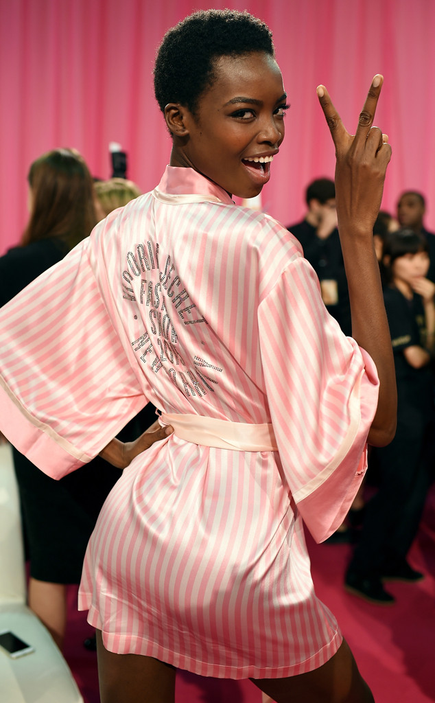 Maria Borges, Victoria's Secret, Backstage
