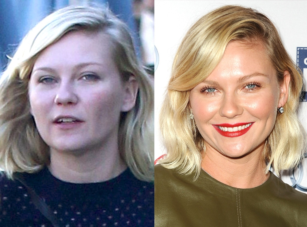 Kirsten Dunst -  The  Fargo  star skips the foundation for a day running errands in Los Angeles.