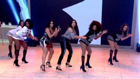 Fátima Bernardes dança Bang de Anitta e internet vai à loucura