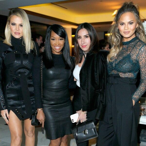 Khloe Kardashian, Malika Haqq, Jen Atkin, Chrissy Teigen