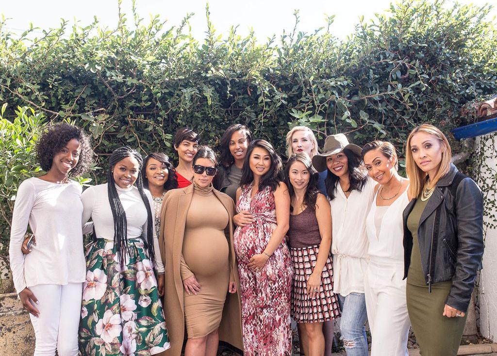 Kim Kardashian Shows Baby Bump In Chic Familiar Style At Pregnant