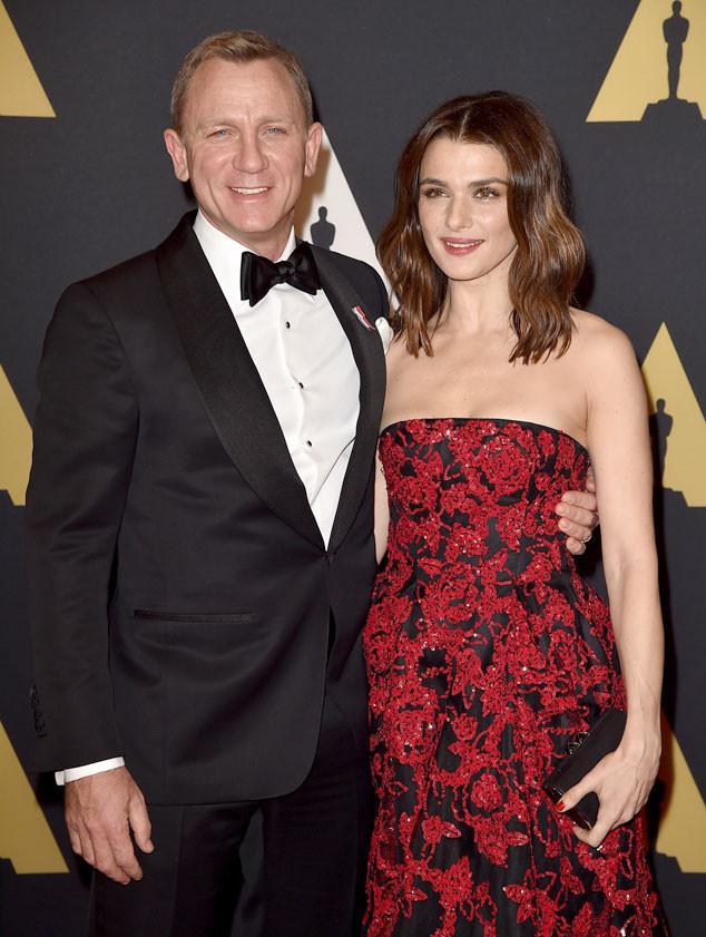 Governors Awards, Daniel Craig, Rachel Weisz