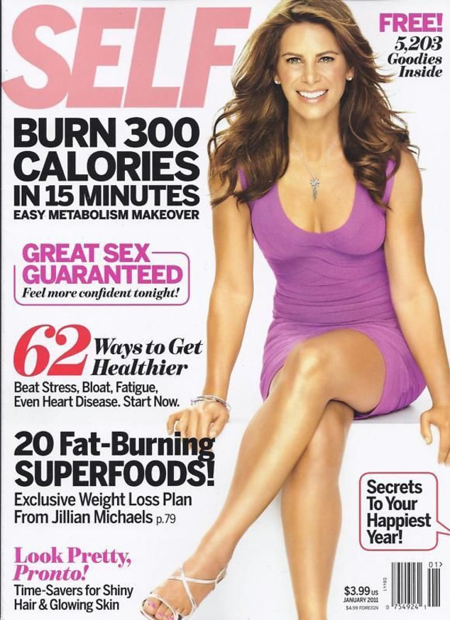 Self, January 2011 from Jillian Michaels' Hottest Covers ...