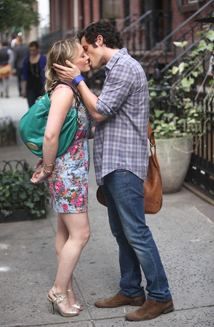 Gossip Girl Couples, Penn Badgley, Hilary Duff