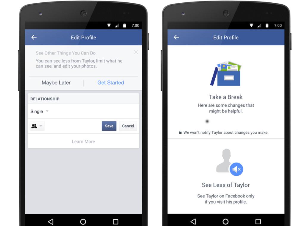 Facebook Breakup Tool