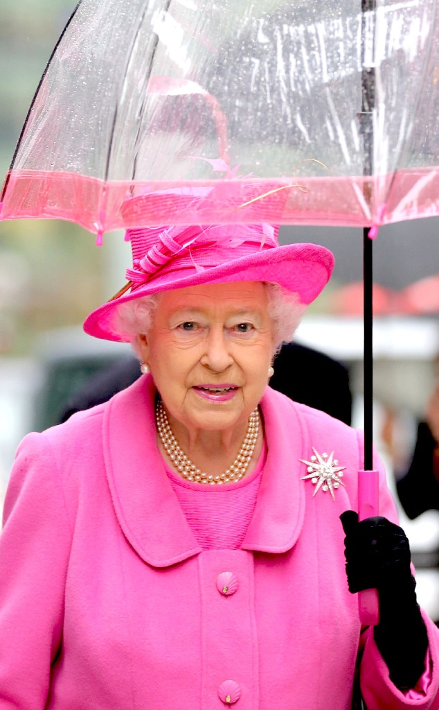 Queen Elizabeth II, Umbrella