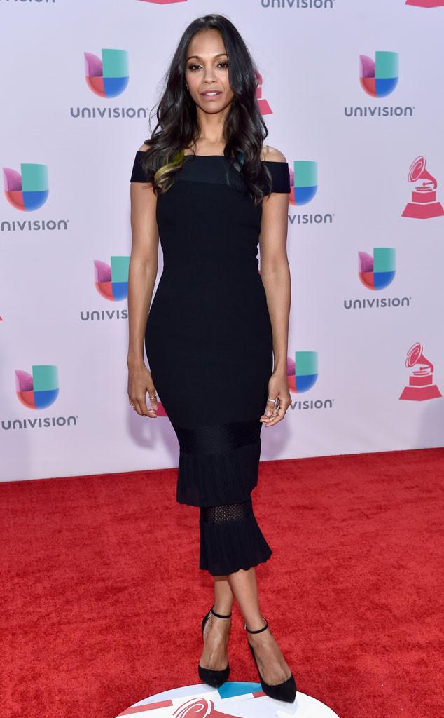 Zoe Saldana, Latin Grammy Awards