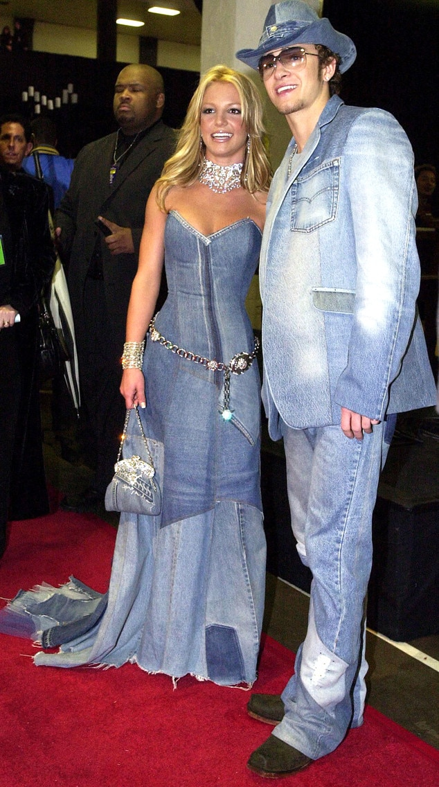 Britney Spears, Justin Timberlake, 2001 American Music Awards