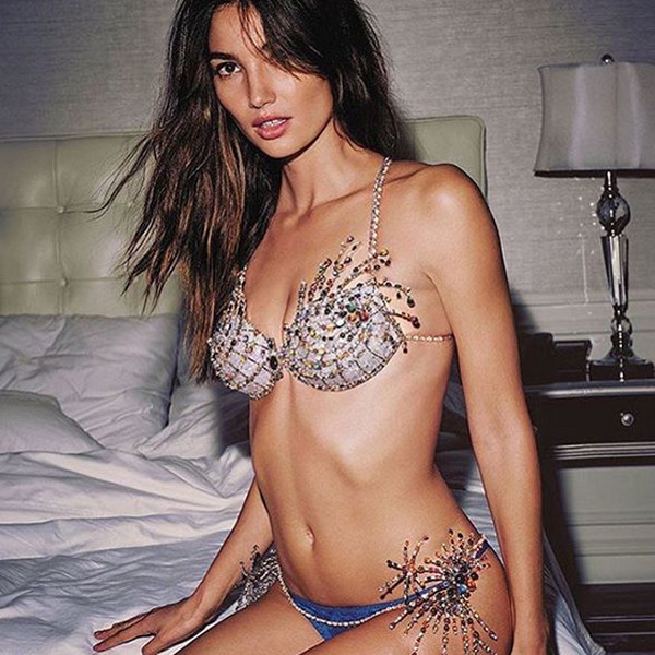 f89cc4fa9 Lily Aldridge Will Model the  2 Million Fantasy Bra at the 2015 Victoria s  Secret Fashion Show  Get the First Look