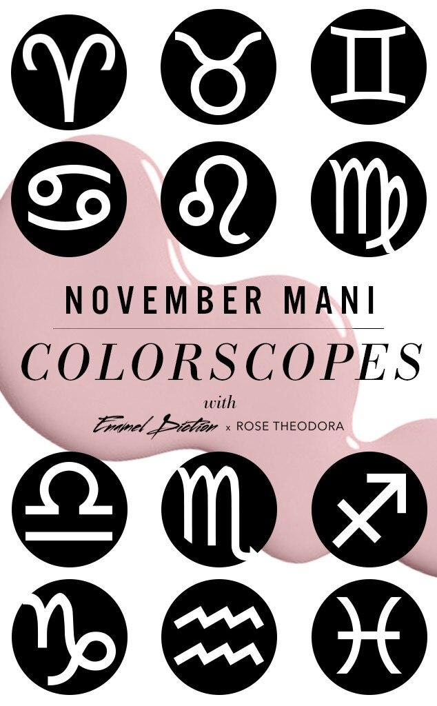 ESC, November Mani Colorscopes