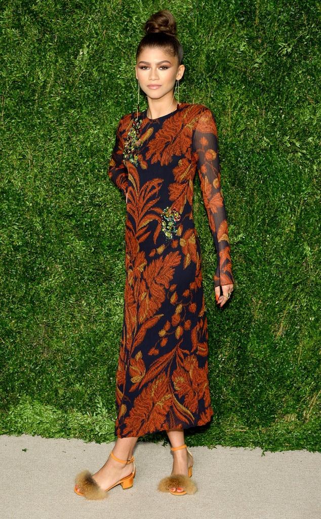 Zendaya, CFDA/Vogue Fashion Fund Awards
