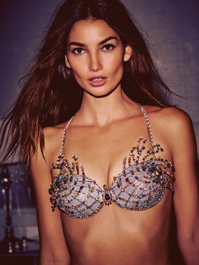 b7b07e09cbb Lily Aldridge from Victoria s Secret Fantasy Bras