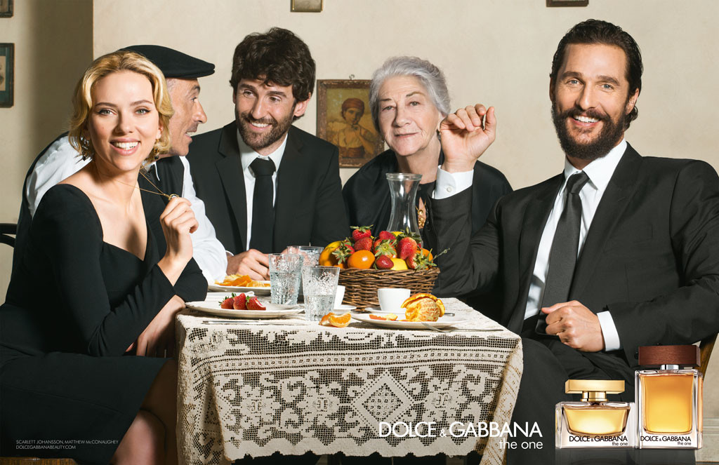 Matthew McConaughey, Dolce & Gabbana