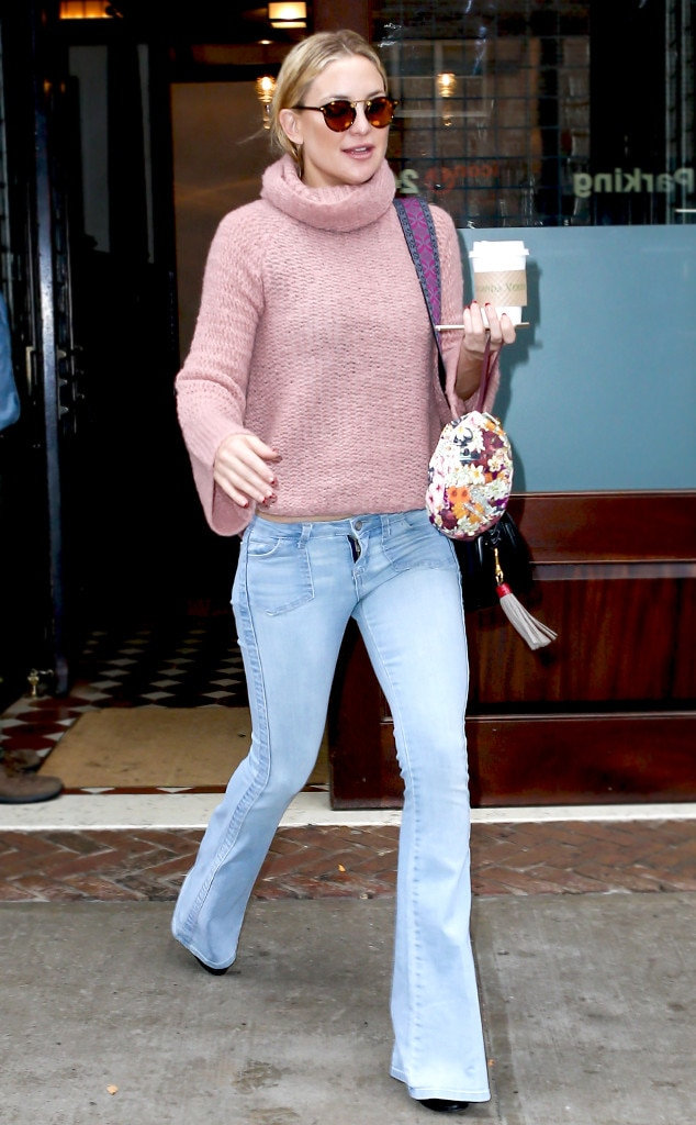 Hippie Chic from Kate Hudson\'s Street Style | E! News