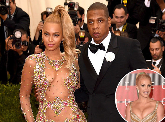 Beyonce, Jay-Z, Britney Spears