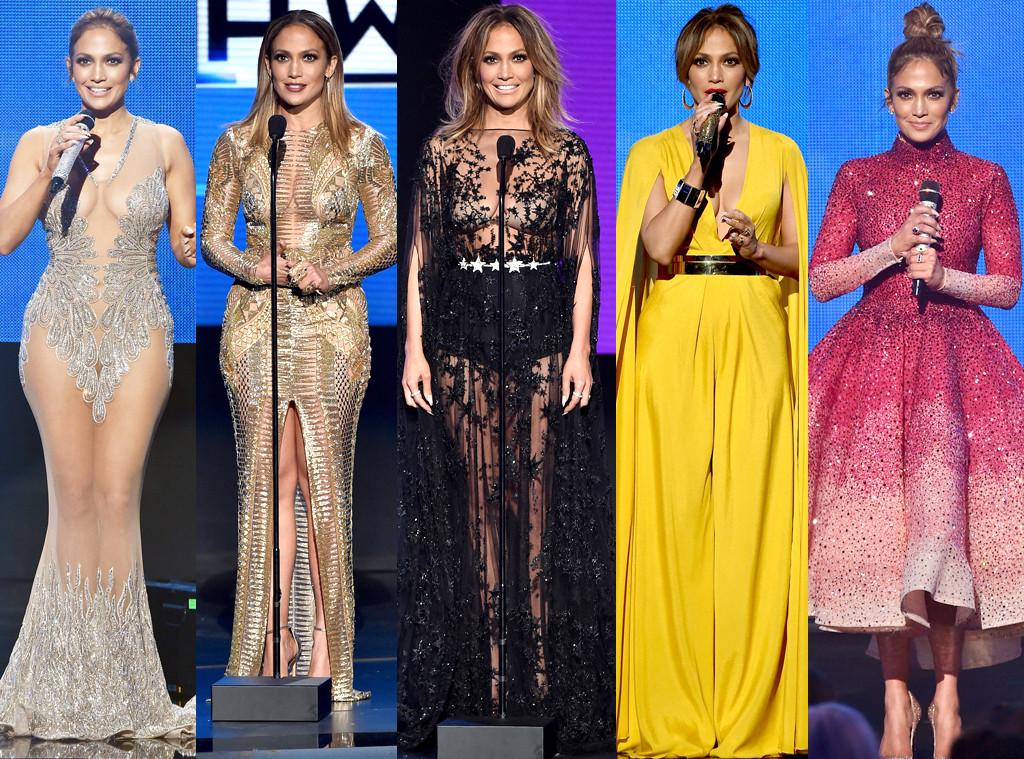Jennifer Lopez rocks 10 AMAs outfits like a diva boss