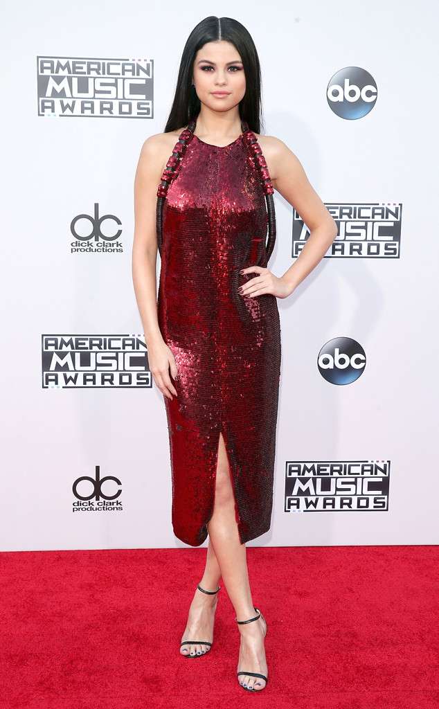 Selena Gomez, American Music Awards, 2015