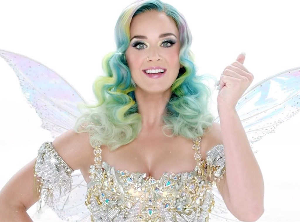 Katy Perry H&M Holiday Campaign