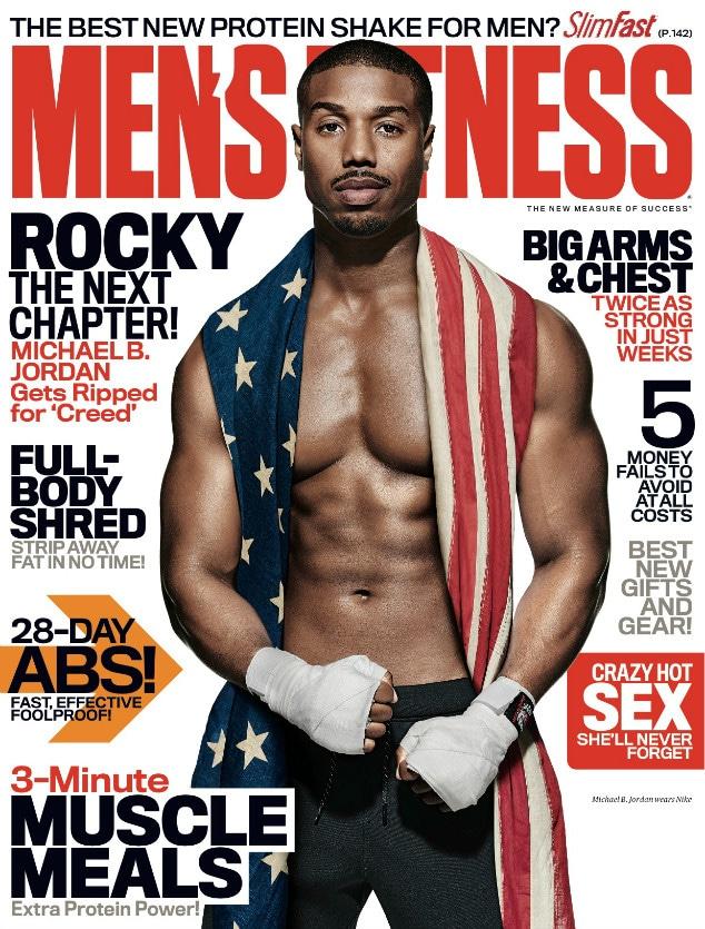 Michael B. Jordan, Men's Fitness