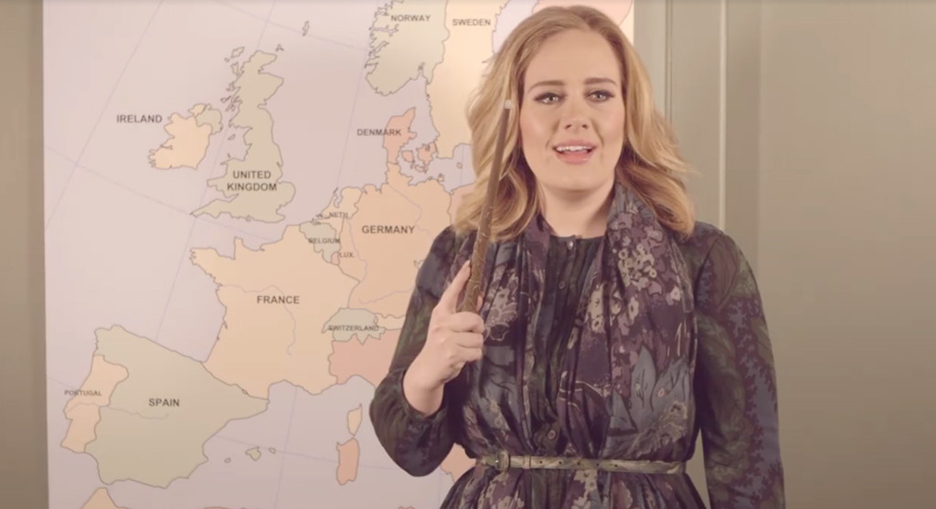 Adele, Tour Announcement