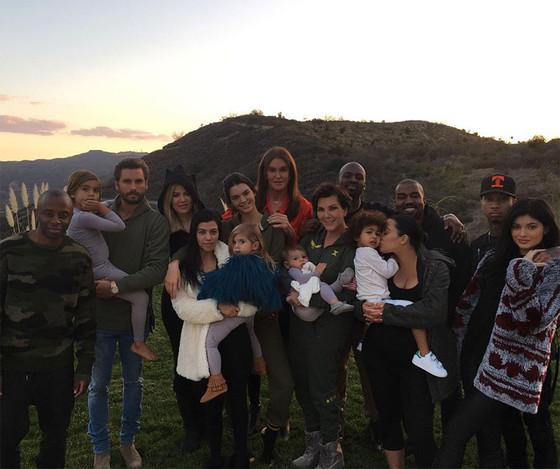 Kardashians, Jenners, Thanksgiving