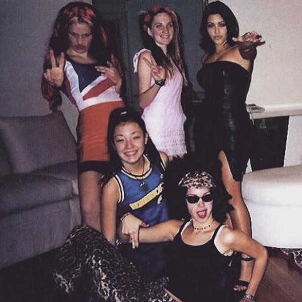 Kim Kardashian, Throwback Photo, Spice Girls
