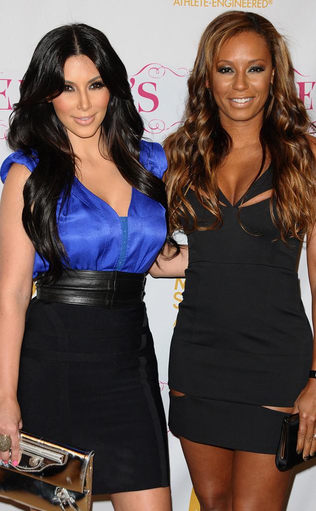 Kim Kardashian, Mel B, Melanie Brown