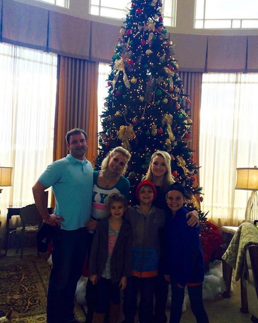 Britney Spears, Jamie Lynn Spears, Thanksgiving 2015