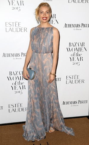 Sienna Miller, Harper's Bazaar Women of the Year Awards