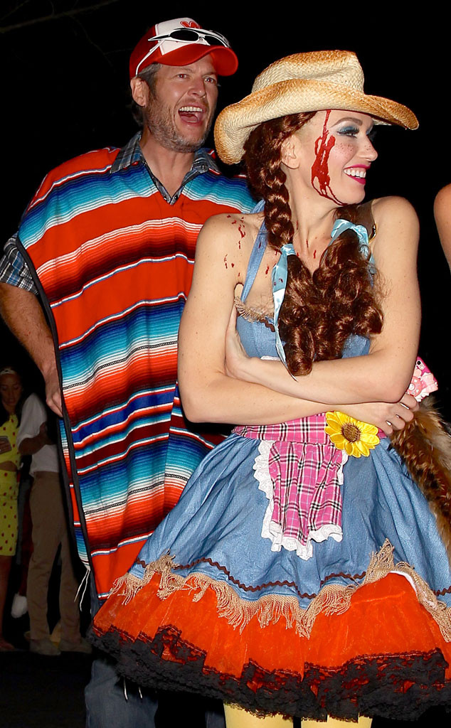 Gwen Stefani, Blake Shelton, Halloween
